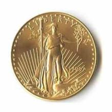 1997 American Gold Eagle 1/2 oz Uncirculated