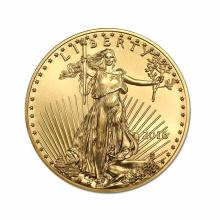 2016 American Gold Eagle 1/2 oz Uncirculated