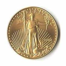 2002 American Gold Eagle 1/2 oz Uncirculated