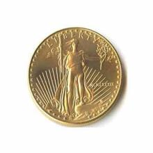 1989 American Gold Eagle 1/4 oz Uncirculated