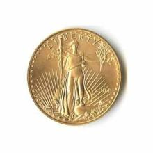 2004 American Gold Eagle 1/4 oz Uncirculated