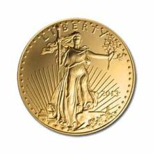 2013 American Gold Eagle 1/2 oz Uncirculated