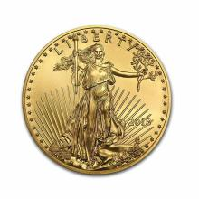2018 American Gold Eagle 1/2 oz Uncirculated