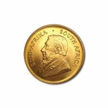 South Africa Gold Krugerrand Quarter Ounce (Random Year)