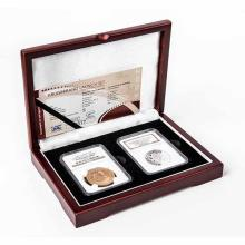 2009 South Africa Krugerrand Mintmark 2 Coin Launch Set PF69