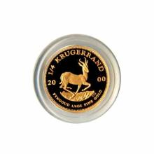 South Africa Krugerrand Proof Quarter Ounce Gold Coin (Dates Our Choice)