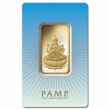PAMP Suisse 1 Ounce Gold Bar - Lakshmi