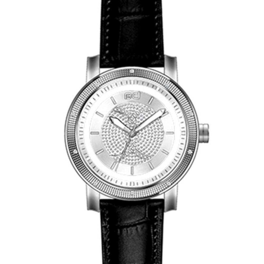 Diamond Watch Plated White Gold