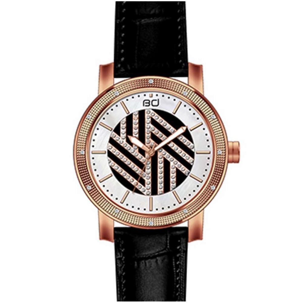 Diamond Watch Plated Rose Gold