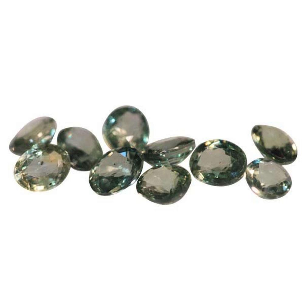4.68 CTW MULTISAPPHIRE OVAL 5X4 mm