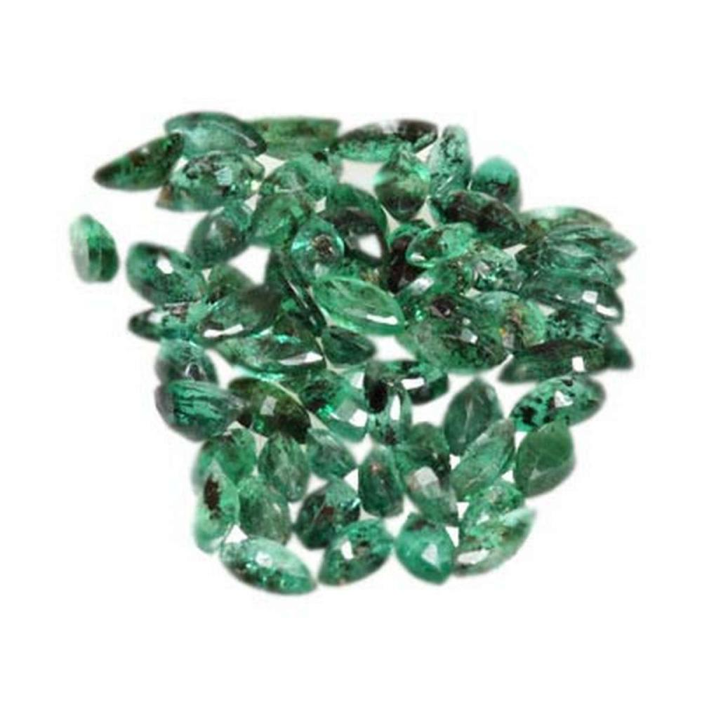 Natural Emerald 5.00 ctw 4x2mm Marquise Cut