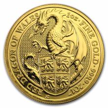 2017 1 oz British Gold Queen