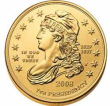 First Spouse 2008 Jacksons Liberty Uncirculated