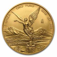 Mexico Gold Libertad One Ounce 2015