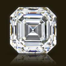 GIA CERT 1.5 CTW ASSCHER DIAMOND F/VVS2
