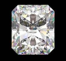 GIA CERT 1.55 CTW RADIANT DIAMOND F/I1