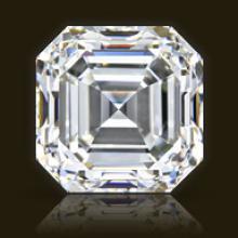 GIA CERT 1.7 CTW ASSCHER DIAMOND F/SI1