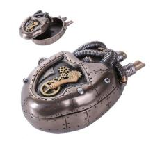 STEAMPUNK HEART BOX 5 7/8