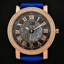 2197e9107c5f 18K GOLD PLATED GENUINE DIAMOND WRIST WATCH