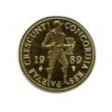 Netherlands 1 ducat gold Proof 1986-date