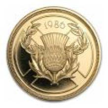 Great Britain 2 pound gold PF 1986 Commonwealth Games