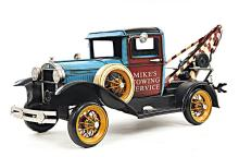 HAND MADE 1931 FORD MODEL A TOW TRUCK 1:12TH SCALE MODE