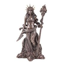 COLD CAST BRONZE HECATE 5 1/2