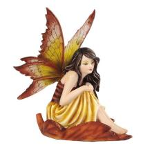 HAND PAINTED RESIN FAIRYLAND FAIRY H: 5 1/4