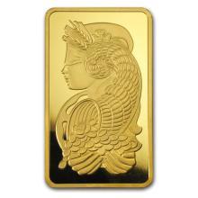 10 oz Gold Bar - PAMP Suisse Lady Fortuna (w/Assay) #22421v3