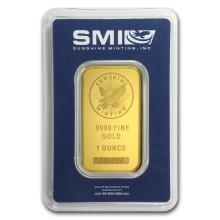 1 oz Gold Bar - Sunshine New Design (In TEP Packaging) #22402v3