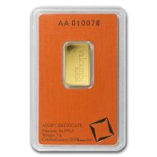 5 gram Gold Bar - Valcambi (In Assay) #22411v3