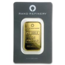 1 oz Gold Bar - Rand Elephant Mirage (In Assay) #22429v3