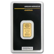 1/4 oz Gold Bar - Argor-Heraeus #22425v3