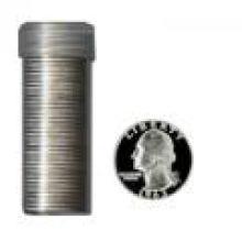90% Silver Proof Washington Quarters Roll (40 pcs.)