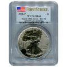 Certified 2006 20th Anniversary American Eagle Silver Reverse Proof PR69 PCGS