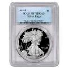 Certified Proof Silver Eagle 1997-P PR70DCAM PCGS