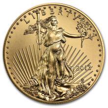 2013 1/2 oz Gold American Eagle BU