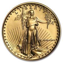1986 1/4 oz Gold American Eagle BU (MCMLXXXVI)