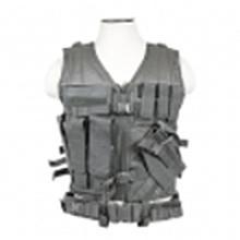 Vism By Ncstar Tactical Vest/Urban Gray Xl-xxl+
