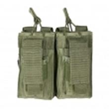 Vism By Ncstar Ar Double Mag Pouch/Green
