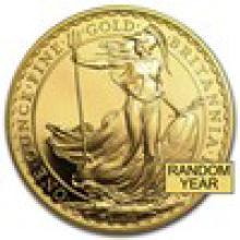 Great Britain 1 oz Gold Britannia BU/Proof (Random Year)