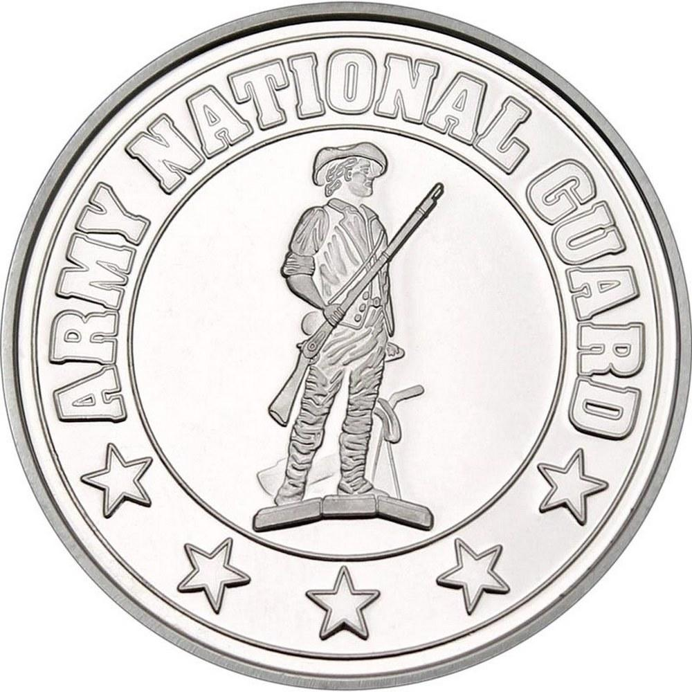 Army National Guard .999 Silver 1 oz Round