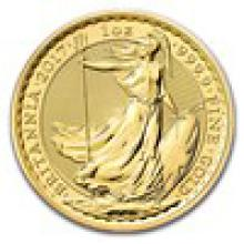 2017 Great Britain 1 oz Gold Britannia BU