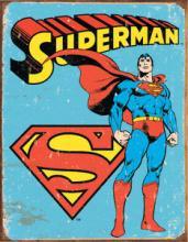 SUPERMAN METAL SIGN