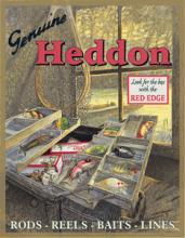 HEDDON'S METAL SIGN