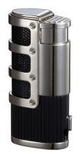 Visol Cato Triple Jet Flame Lighter - Black Matte