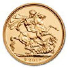 2017 Great Britain Gold Sovereign BU
