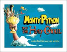 HOLY GRAIL METAL SIGN