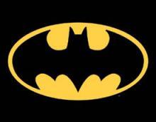 BATMAN METAL SIGN