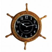 NAUTICAL BLACK FACED WOODEN 18